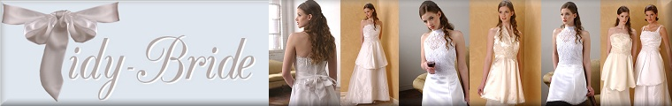 Tidy Bride | Protective Wedding Gown Aprons